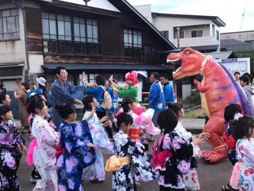 長井おどり大パレードが開催されました/
