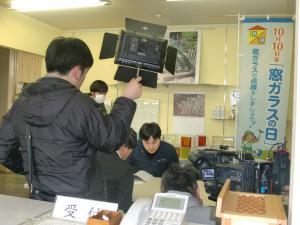 「YBC『やまがた おしごとチャンネル』撮影!」の画像