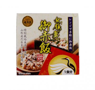 「女鶴の舞 御赤飯 324円」の画像