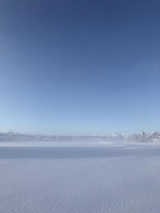 豊田の冬景色/