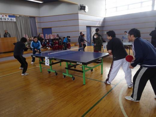 【第37回豊田地区卓球大会】開催しました。/