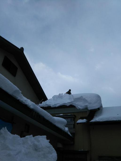 2017/01/25 14:58/雪おろし