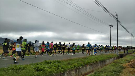 2018/10/22 06:46/長井マラソン大会
