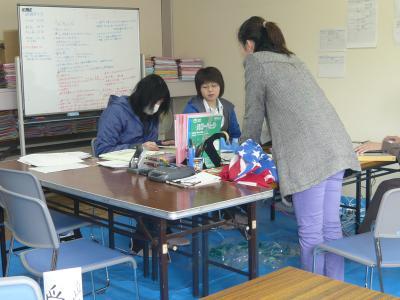 「3月25日 ボランティア本部です」の画像