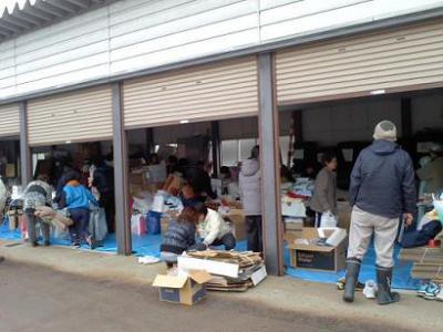 「3月26日(土) 救援物資のご提供」の画像