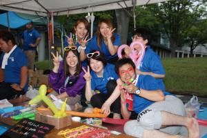 「雨の中川西夏まつり開催! 2014/8/10」の画像