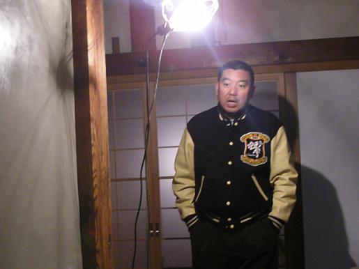 2009/12/30 18:05/村山市【父母報恩寺/耐震リフォーム】こちらが森住職です!