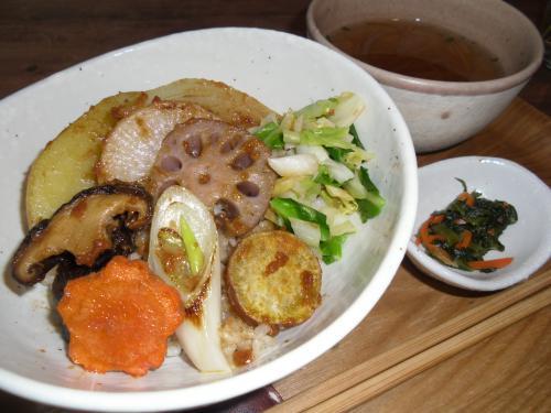 「焼き野菜玄米丼」の画像