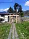 神明神社《鳥居のある光景》山形市大字上東山:2013/05/12 22:51