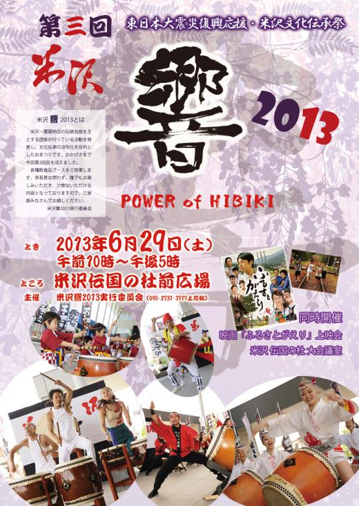米沢響2013/