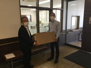 「「マスクの寄贈について(お礼)」」の画像