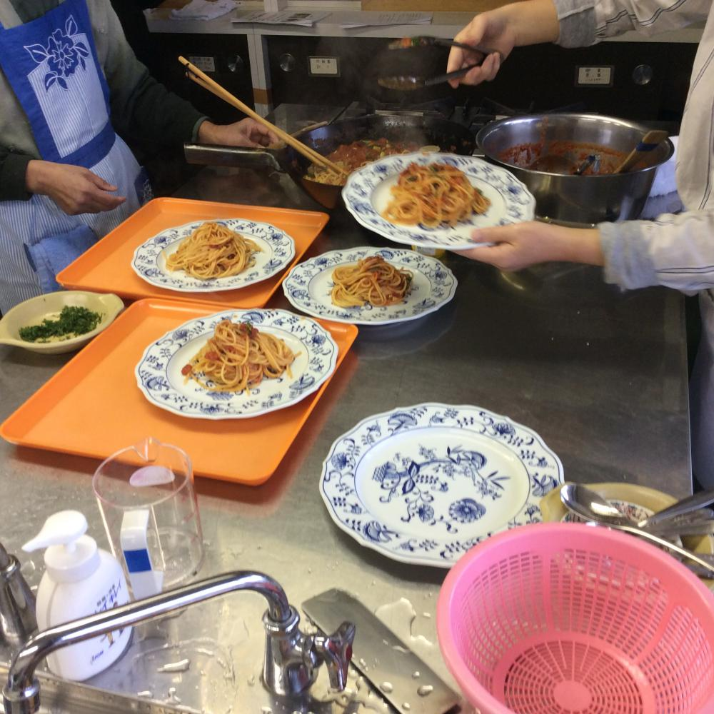 紅大豆を使った料理教室
