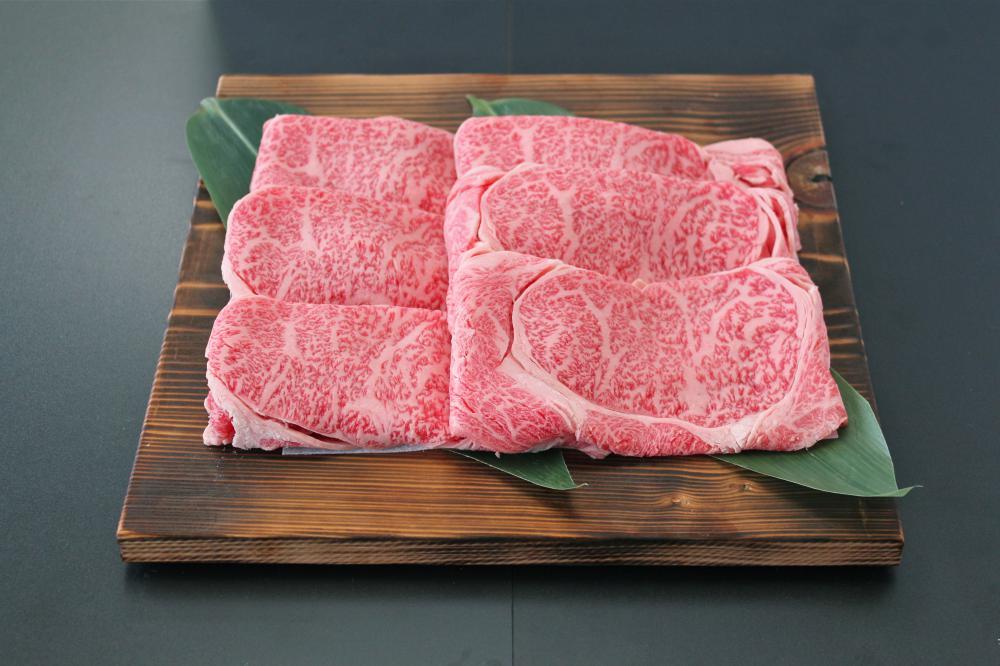 米沢牛肩ロースすき焼き用:画像