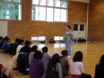 山形大学にて:画像