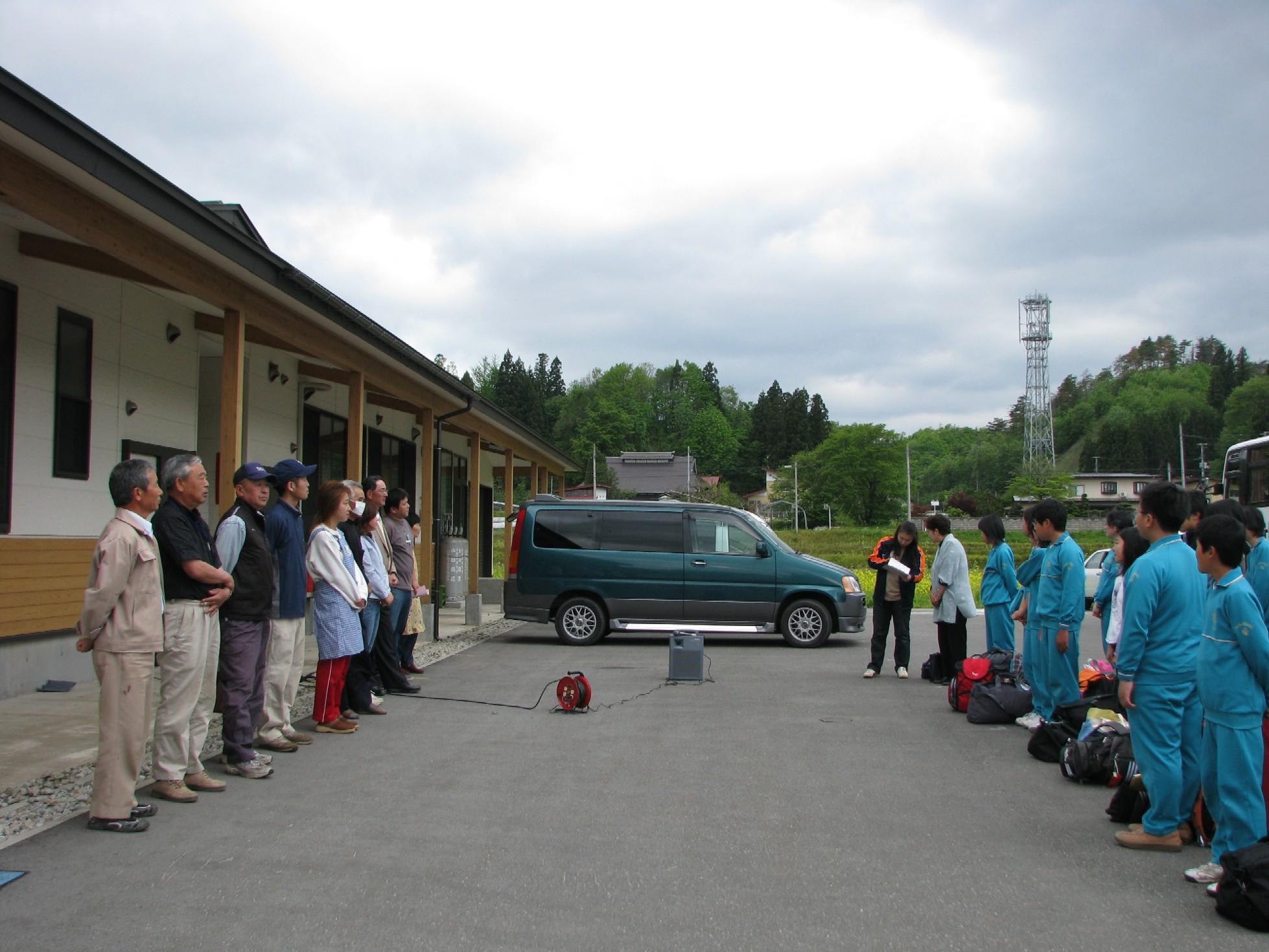 平成21年度教育旅行の受入が始まりました。