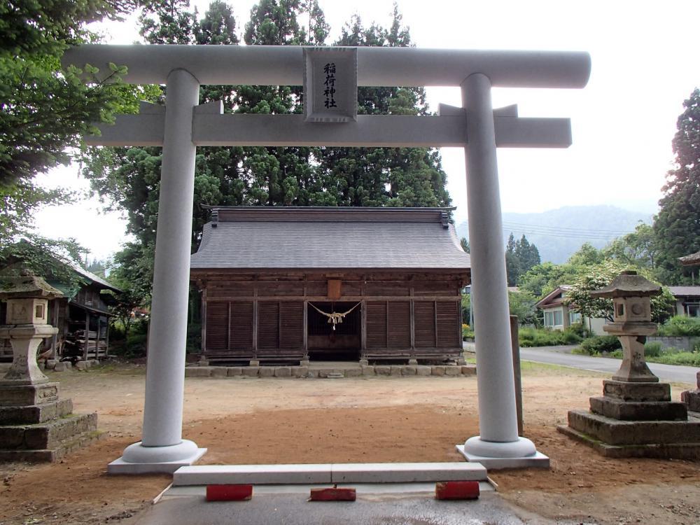 白鷹町高玉 稲荷神社:画像