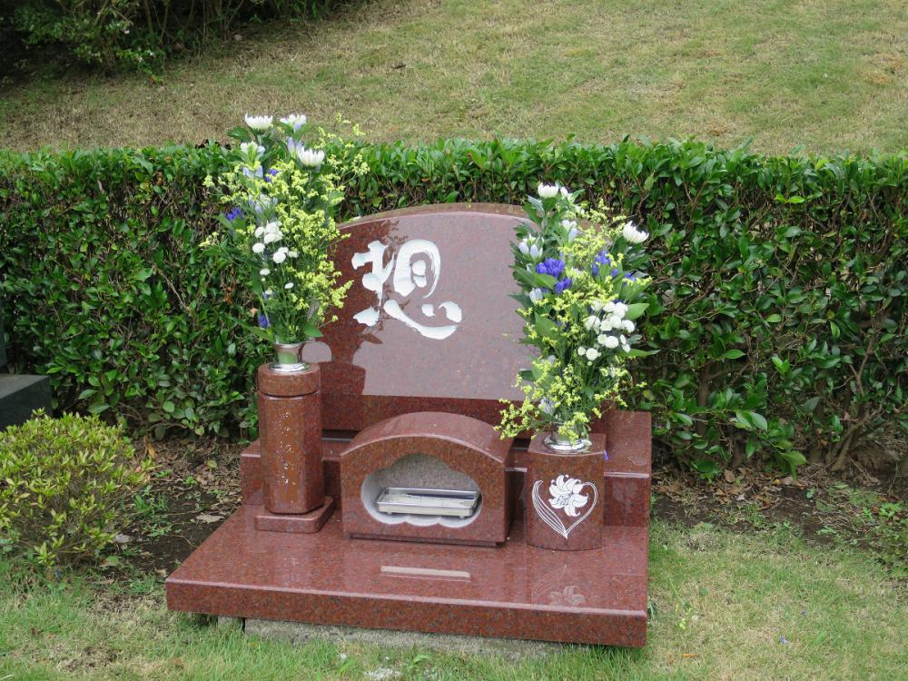 大庭台墓園 芝生墓地。:画像