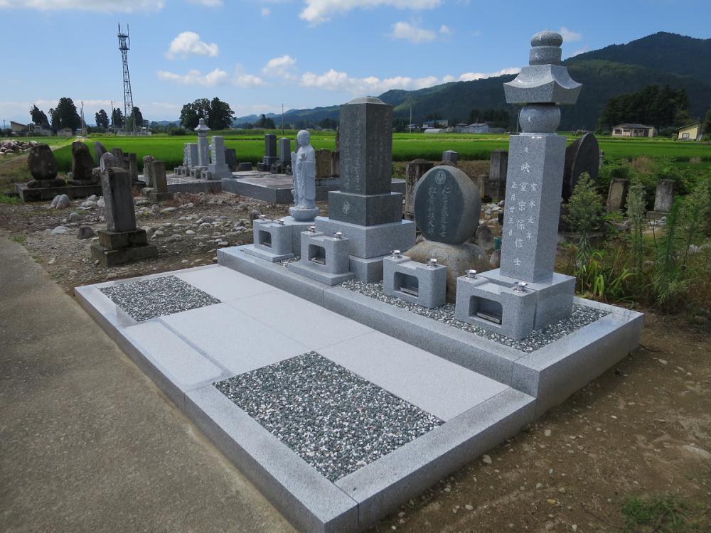 旧墓地整備。:画像