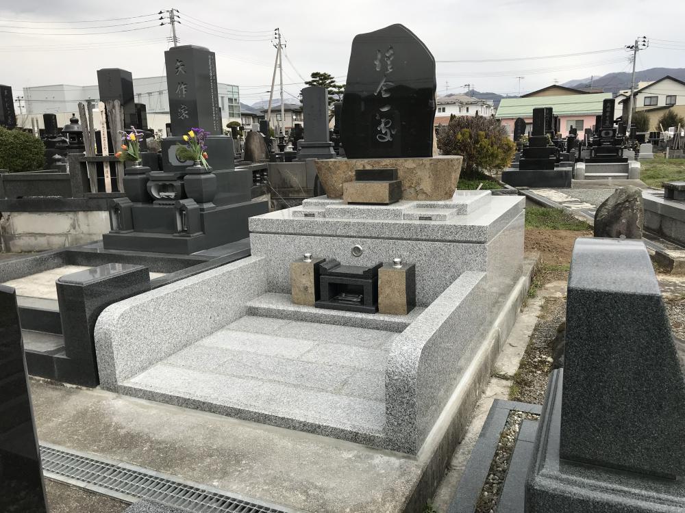 山形市吉原墓所に永代供養塔が完成しました