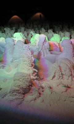 樹氷ライトアップ今月末まで!
