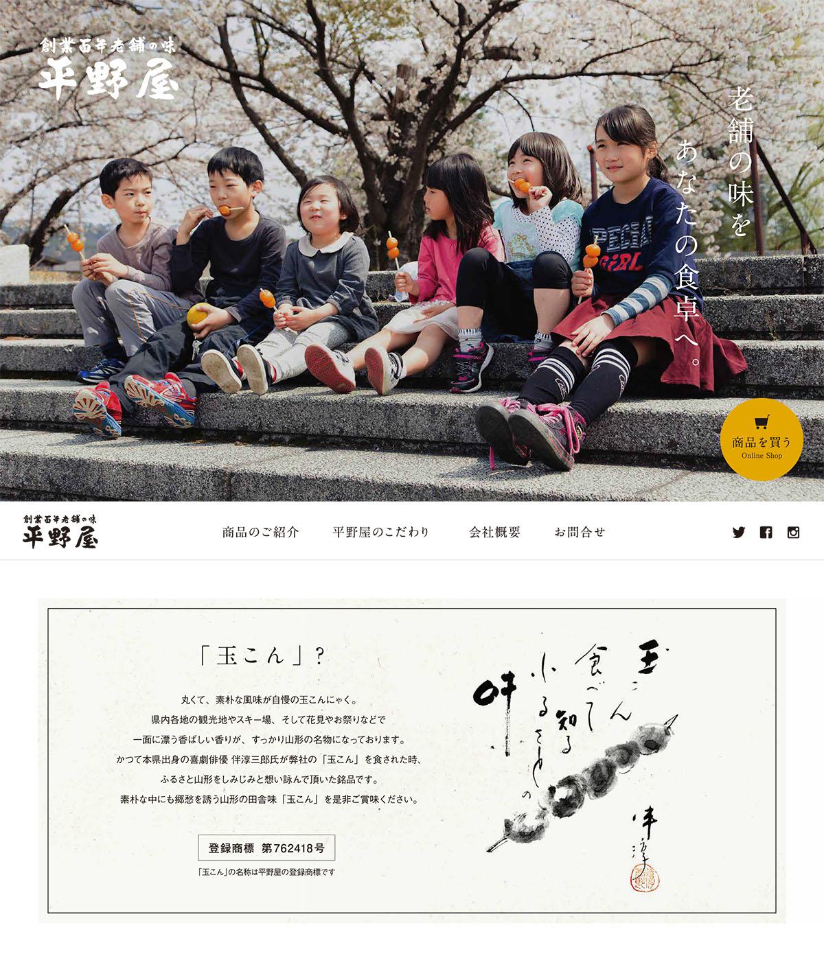 株式会社平野屋|コーポレートサイト