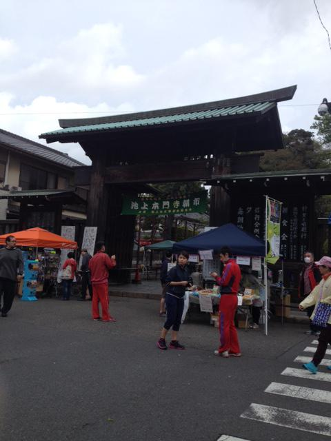 5月15日(日)池上本門寺朝市出店いたしました。