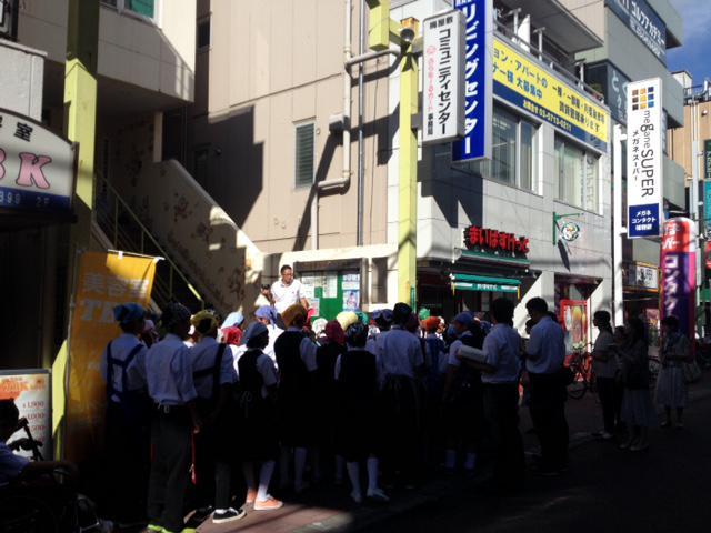 【長井北中学校あやめんごIN梅屋敷】