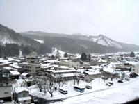 小野川 雪模様