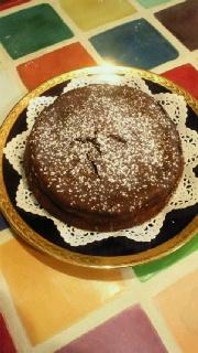 「玄米米粉のガトー・ショコラ」の画像