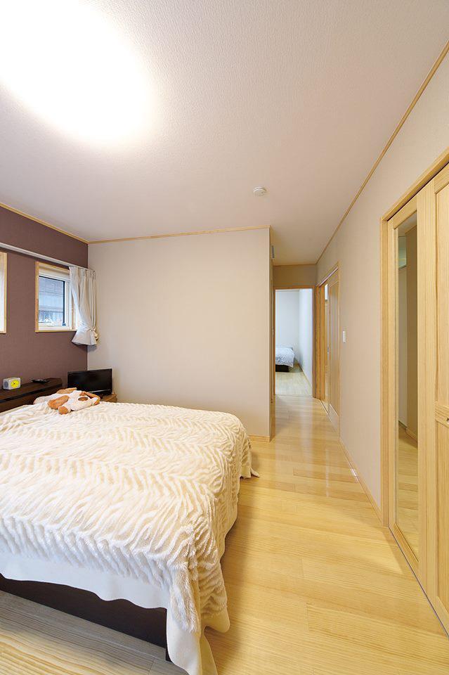 60代以降の寝室は、つながりのある夫婦別室が最適:画像