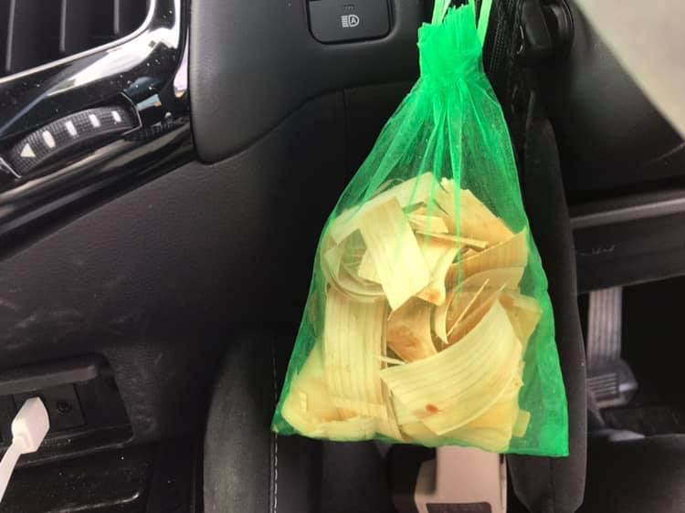 車内がヒノキの香り:画像