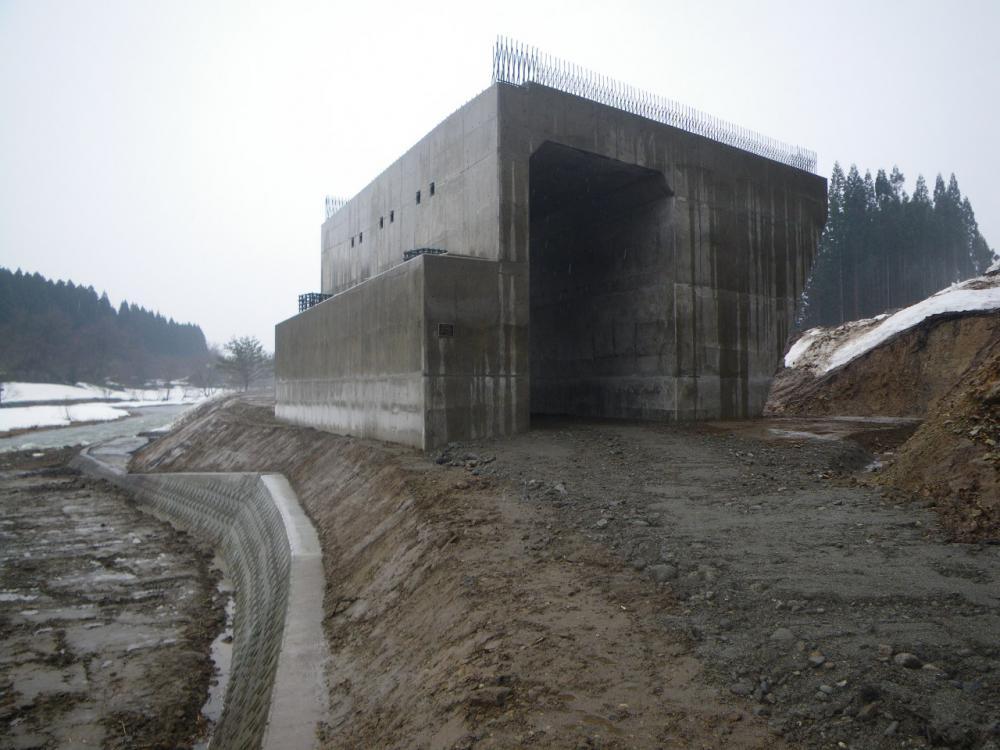 升形道路改良工事(新庄市升形地内):画像