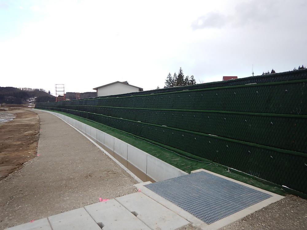 古口除雪ステーション造成外工事(戸沢村大字古口地内):画像