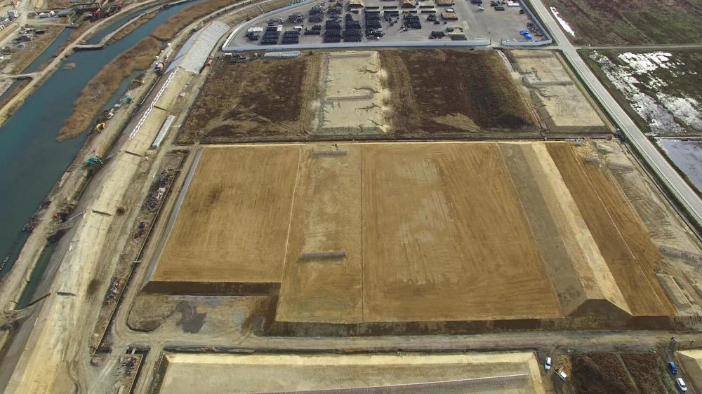 防災林造成2704工事(福島県南相馬市小高区塚原字八重生地内):画像