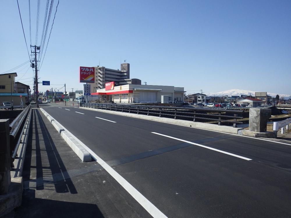 沖ノ橋・春日橋橋梁補修工事(新庄市沖ノ町):画像