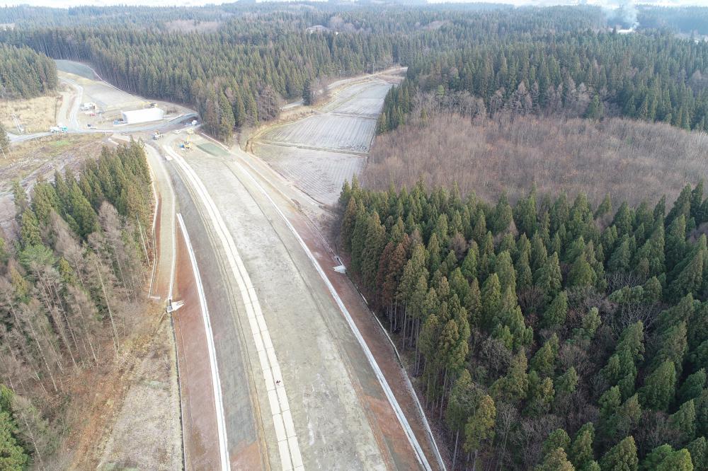 鬼首山地区道路改良工事:画像