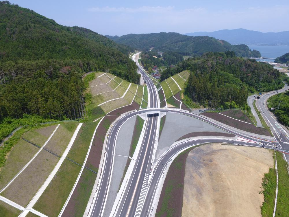 東八幡前北地区道路改良工事:画像
