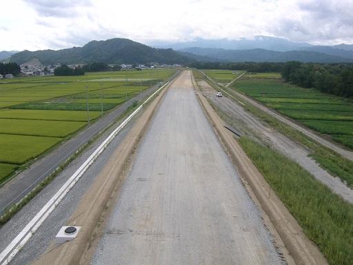 金谷地区道路改良工事