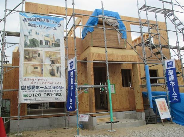 【2×6の家】泉区A様邸新築工事  〜建て方編〜:画像