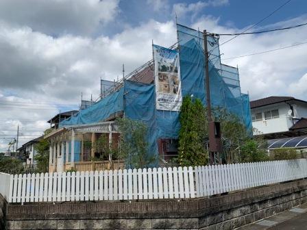【外まわりリフォーム】利府町K様邸  〜〜屋根塗装編〜〜:画像