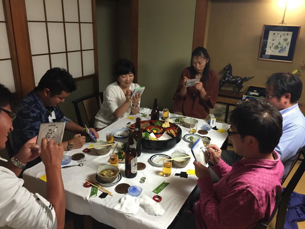 経和会10月例会 ボードゲームを堪能しよう!