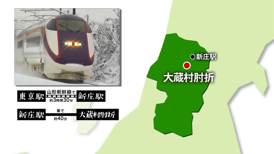 【#1242】地面出し競争 肘折〜大蔵村(2月2週):画像