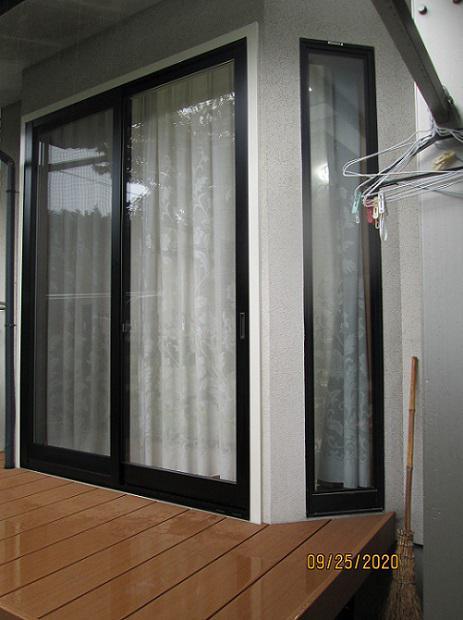 窓&ウッドデッキの交換 完成です!/