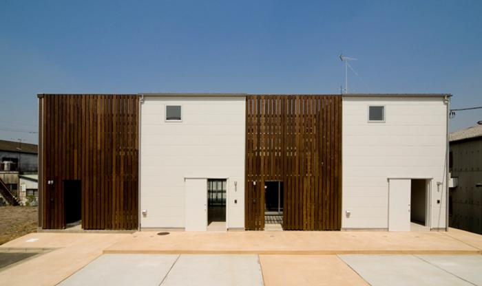 建物の外観デザイン:画像