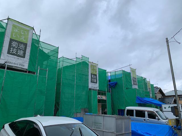 江俣貸家新築7棟棟上げ完了