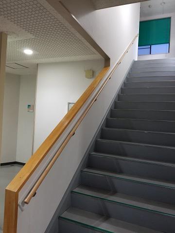 階段手摺工事/