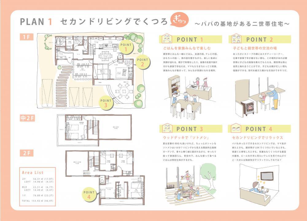 """セカンドリビングでくつろ""""ぎゅっ"""" 〜パパの秘密基地がある二世帯住宅〜:画像"""