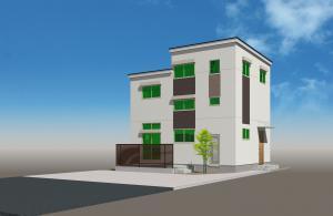 「3/12(日)完成内覧会『土間リビングのある2.5F建ての家』」の画像