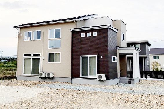 コミュニケーションのとれる同居型二世帯住宅