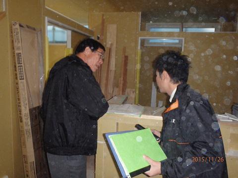 【新築住宅】西村山郡西川町間沢 W様邸 木完検査